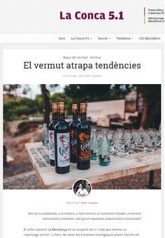 Resumen de prensa - Restaurant Vermuts Rofes It Cast, Summary, Printing Press, Wine Cellars, Vacations, Restaurants