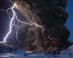 Eyjafjallajökull Volcano, Iceland by Sigurdur Hrafn Stefnisson