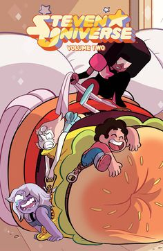 Join Steven as he starts his next adventure from trying to save the local library to getting lost inside Pearl's head! It's always a good day to be Steven Universe when you're surrounded by such amazi