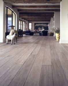 White oak flooring bleached Source by Timber Flooring, Hardwood Floors, Flooring Ideas, White Oak Floors, White Beams, Wide Plank, Home Remodeling, My House, New Homes