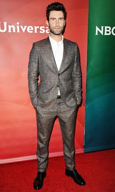 Hollywood's Most Stylish Leading Men: Adam Levine I LOVE ADAM!!!!!!!