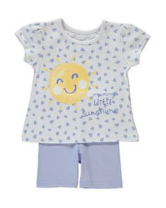 Sunshine Top & Shorts Set £4