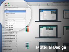 Material Design Template v2