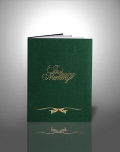 Funeral booklets design & print, funeral order of service, online order Funeral Order Of Service, Green Funeral, Booklet, Helping People, Earthy, First Love, Memories, Personalized Items, Life