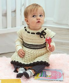 Free Crochet Pattern: Baby's Special Tunic | Pattern Paradise