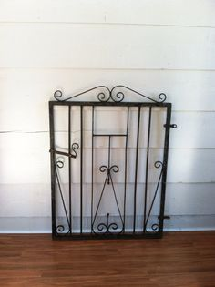 Vintage Wrought Iron Gate for Home Decor  by LynorByJessica, $99.00