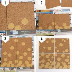 DIY Gold Confetti Cork Board - My Sister's Suitcase - Packed with Creativity Cork Wall, Suitcase Packing, Gold Diy, Gold Confetti, Crafty Craft, Fun Crafts, Playroom, Craft Projects, Craft Ideas