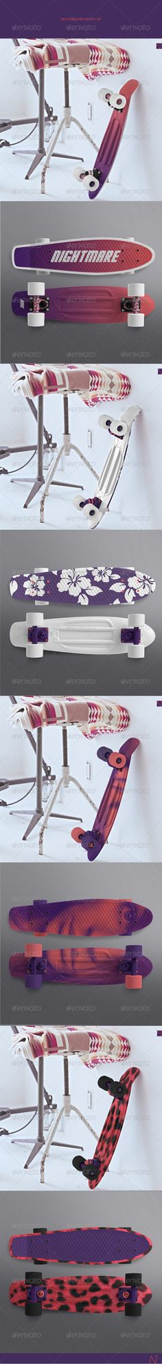 Skateboard Mock-up ...  accessories, board, branding, company, cruiser, customize, dunhill, equipment, extreme, goods, hipster, hipsters, identity, indie, jump, long, longboard, mock up, mock-up, mockup, nightmarecatcher, skate, skateboard, skater, slide, sport, sporting, template, wedge
