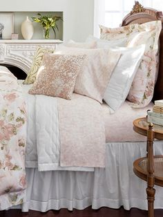 New Spring Prints by Sferra! Hop into bed with the Caprio bed linens. Shop Now >