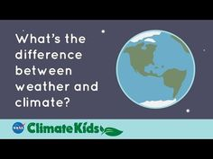 Watch this video to find out--and to learn about how NASA satellites are keeping an eye on conditions on Earth! Climate Change Meaning, Weather And Climate, Computer Science, Science And Technology, Sustainability Education, Kids Sites, Climate Warming, History Of Earth