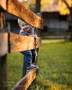 "tinnacriss: ""On the Fence by AdrianMurray """