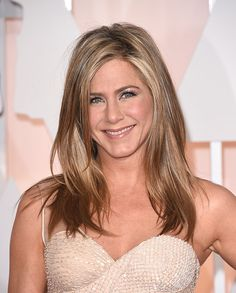 Wedding hairstyles! We haven't seen any wedding photos of Jennifer Aniston yet, but we are imagining she wore her gorgeous, shiny hair down, styled in a perfect blowout for her big day as she married Justin Theroux.