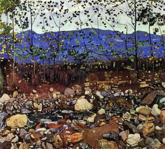 Forest Stream by Ferdinand Hodler