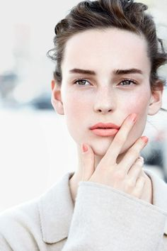 Just peachy! Add orange color pop on lips and cheeks for a great spring time look! Try Vapour Organic Beauty Aura Multi-Use in Intrigue