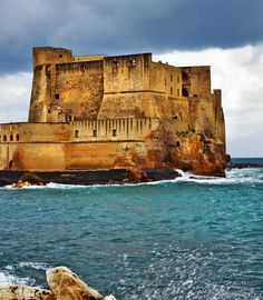 Beautiful Castel dell'Ovo. Naples, Italy | 45 Reasons why Italy is One of the most Visited Countries in the World