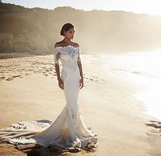 Perfect Beach Wedding Dresses