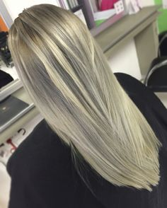 Balayage Grey/Platinum