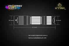 ★XTAR LED Flashlight's EDC Series★ - XTAR WK50