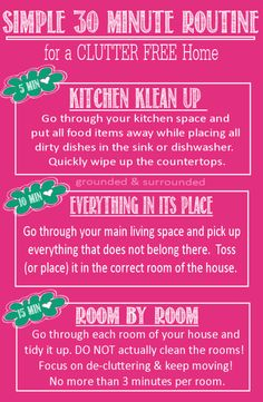 CLUTTER increases STRESS & decreases PRODUCTIVITY! You need this Simple 3-Step Plan to quickly de-clutter, de-stress, & get stuff done!