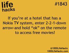 Life hacks.