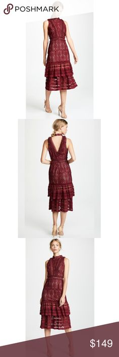 4eac39ed8f35 NWT ANTHROPOLOGIE Endless Rose Lindsey Lace Dress Brand new with tags NWT  ANTHROPOLOGIE Endless Rose Lindsey