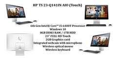 Have a look at smart, elegant #HP TS 23-Q141IN AIO (#Touch) #PC .To know more click      #http://uniquec.com/desktop/consumer-pc/hp-consumer-aio/q141-n4r49aa.html  For enquiry contact  Ph: 9036003700, 9036003800  Email:corporatesales@uniquec.com