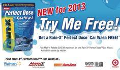 Rain-X Perfect Dose Car Wash Try it Free Rebate