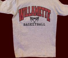 Willamette Basketball T-Shirt, $13.95