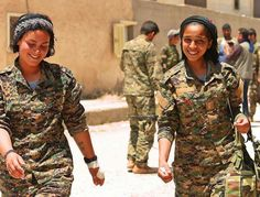 Female Heroines, Real Women, Amazing Women, Female Fighter, Freedom Fighters, Rebel, Female Warriors, Kurdistan, Middle East