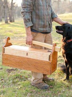Kautzer Craftsmanship, Handcrafted Wood Toolbox