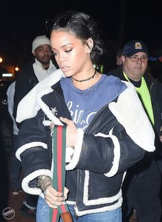 RIHANNA GOES TO THE YUNG THUG AND TRAVIS SCOTT CONCERT - MARCH 13, 2015