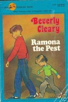 Ramona #2. The engaging tale of young Ramona Quimby's first days in kindergarten, Ramona the Pest takes a pint-sized perspective on the trials and delights of beginning school--goodreads. As wonderful as the rest of the series--get a copy with the original illustrations!