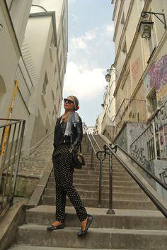 #paris #fshion #leatherjacket #parisstreetstyle Leather Jacket, Paris, Style, Fashion, Studded Leather Jacket, Swag, Moda, Leather Jackets, Montmartre Paris