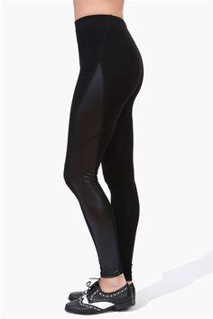 Hot Pant Legging - Black