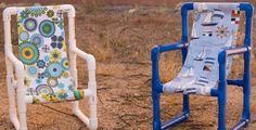 Como Fazer uma Cadeira Infantil de Tubos de PVC | Reciclagem no Meio Ambiente – O seu portal de artesanato com material reciclado