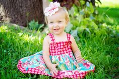 Bliss Bouquet Knot Dress by fluffygirlboutique on Etsy, $34.99