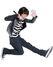 Child Camp Rock Shane Costume Disguise 4 to Boy's, Multi Boy Costumes, Party Costumes, Camp Rock, Finals, Halloween, Grey, Boys, Polyvore, Gray