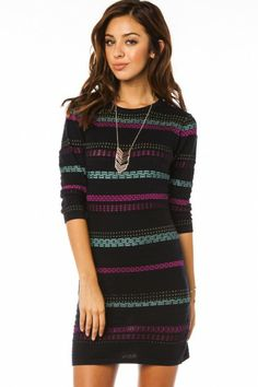 Teyona Sweater Dress