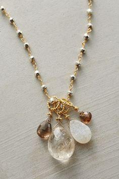 Mullein Pendant Necklace - anthropologie.com