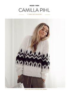 17 SIMPLY SOFT COLLECTION | Camilla Pihl Strikk Camilla, Pullover, Collection, Knitting, Sweaters, Diy, Design, Fashion, Creative