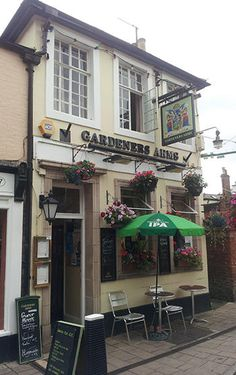 The Garden at the Gardener's Arms - vegetarian and vegan food