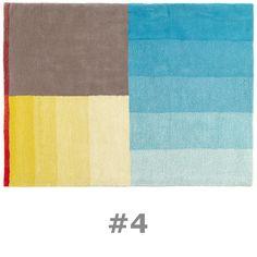 Hay & Scholten & Baijings' Color Carpet Rug #4  studiodaneinteriors.com