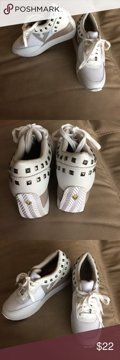 Volatile kicks white womens Cody fashion sneakers Never worn. New without tag. White volatile kicks fashion sneakers size 6.5  volatile kicks Shoes Sneakers