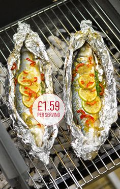 Break away from burgers and bangers with fresh fish. Cooking it in a foil parcel is so easy and helps infuse the fish with vibrant flavours.