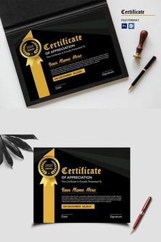 Modern and Corporate Certificate Template. Use this Certificate Template in your business, company or institution in completion of any course, training ,degree Certificate Of Appreciation, Certificate Of Achievement, Award Certificates, Certificate Templates, Name Signature, Logo Creation, Free Graphics, User Guide