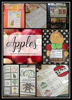 Apple themed ideas for first grade!