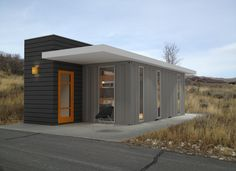 A House Built Out of Shipping Containers