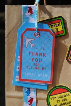 Airplanes Birthday Party Ideas | Photo 15 of 18 | Catch My Party