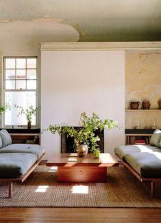 Home Interior, Living Room Interior, Home Living Room, Living Room Decor, Living Spaces, Bedroom Decor, Interior Architecture, Wall Decor, Minimalism Living