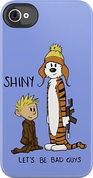 Calvin and Hobbes/Firefly iphone cover